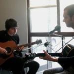 Editors recording the session.